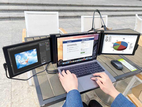 Multiple Screen Laptops